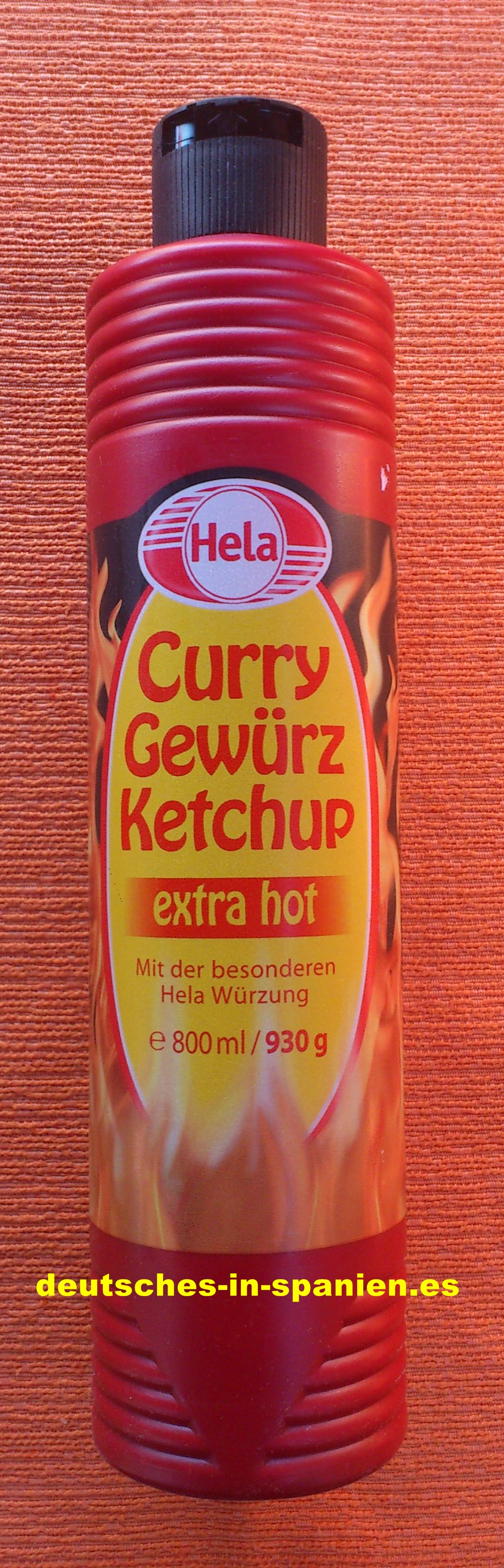 Hela Curry Gewürz Ketchup Extra Hot